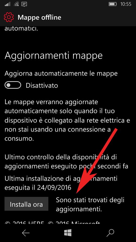 Update Mappe Offline