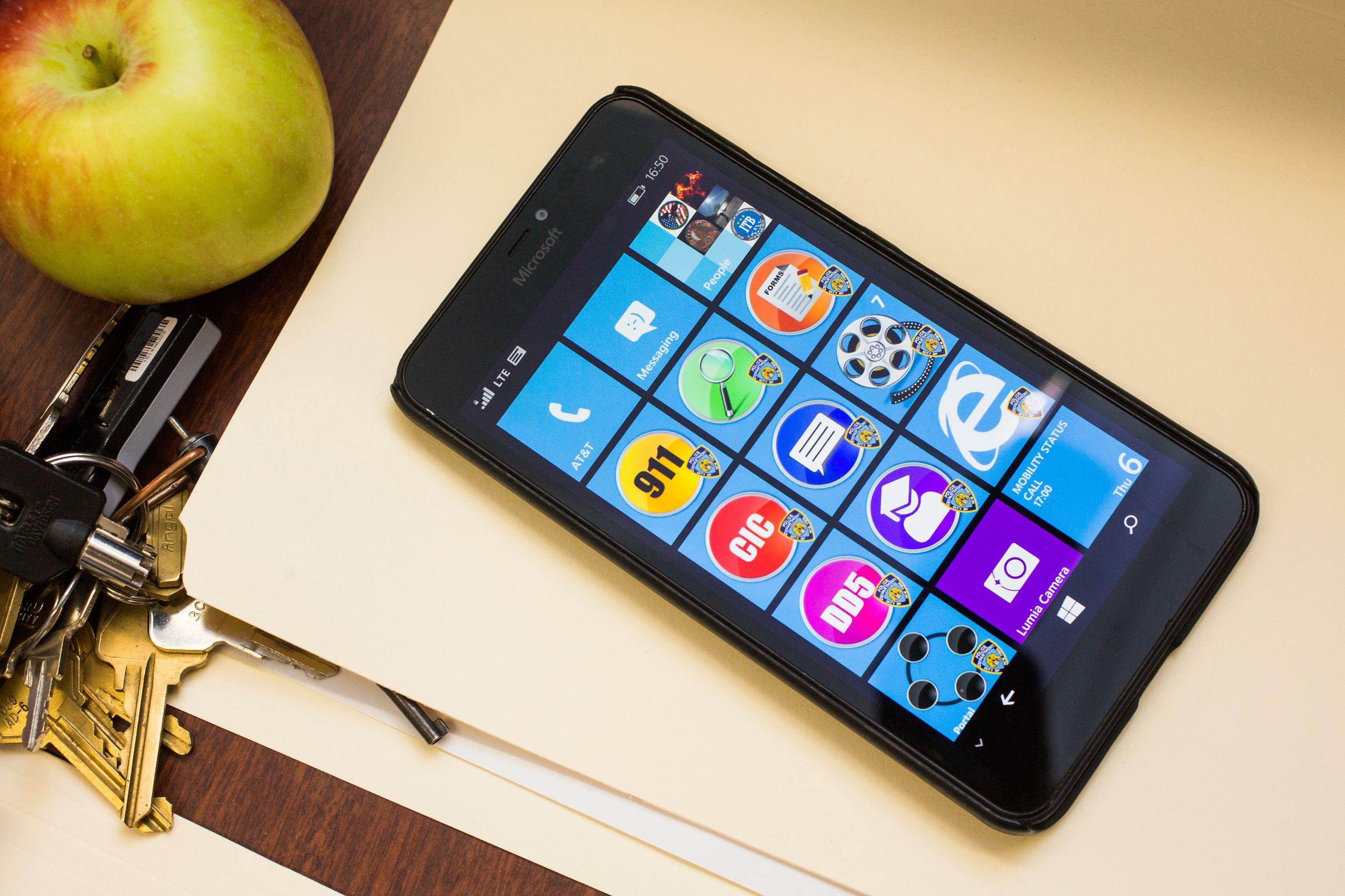 Anche un Windows Phone nella dotazione degli agenti del New York Police Department
