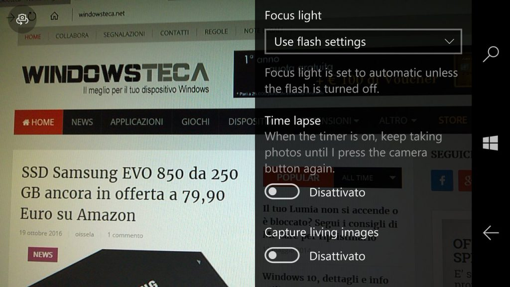 Fotocamera Windows