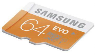 Micro SD Samsung EVO