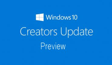 Windows 10 Creators Update Preview