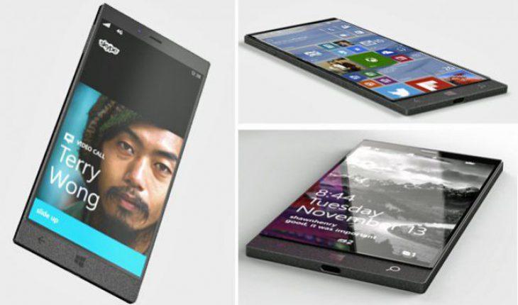 Immagini di un presunto Windows Phone