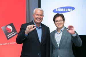Keith Kressin (Qualcomm) e Ben Suh (Samsung)