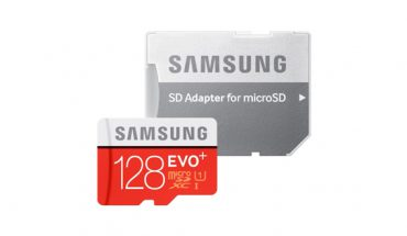 micro-SD Samsung EVO Plus da 128 GB