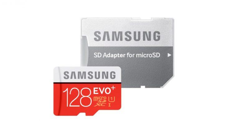 micro-SD Samsung EVO Plus da 128 GB