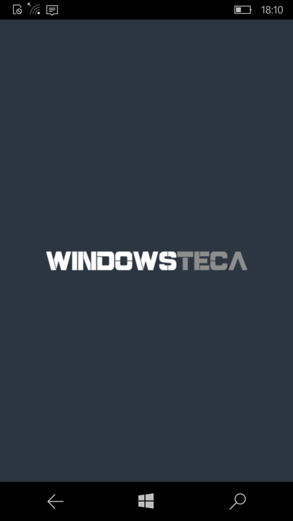 Windowsteca App bloccata
