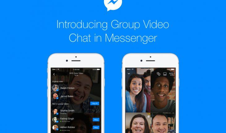 Videochiamate di gruppo in Messenger
