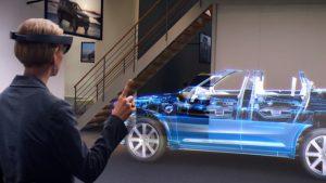 HoloLens e Volvo