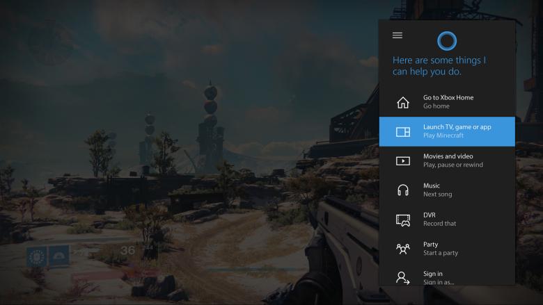 Xbox One - Cortana