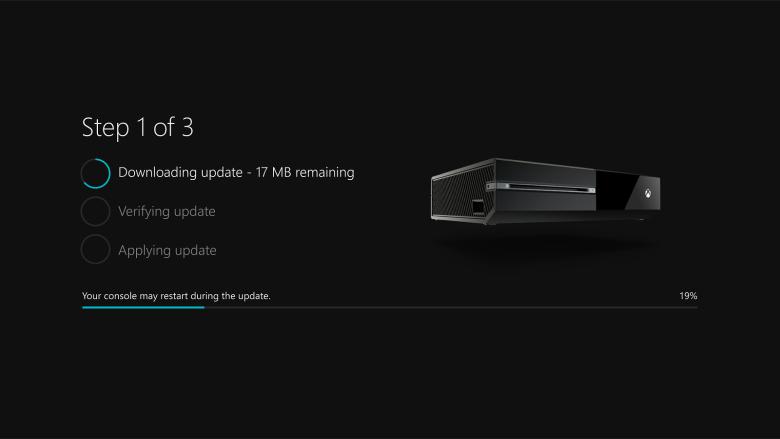 Xbox One - Update