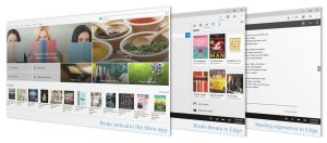 "Sezione ""Libri"" del Windows Store"