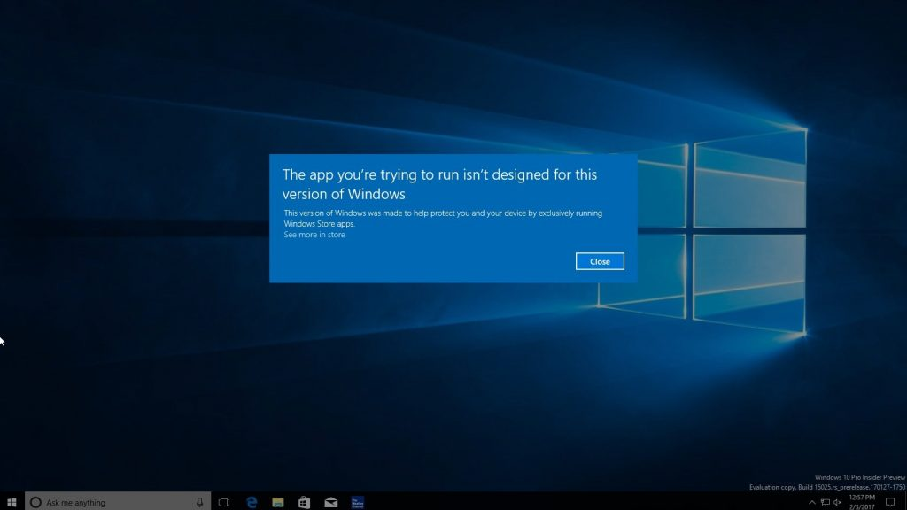 Windows 10 Cloud, una prima build appare in rete