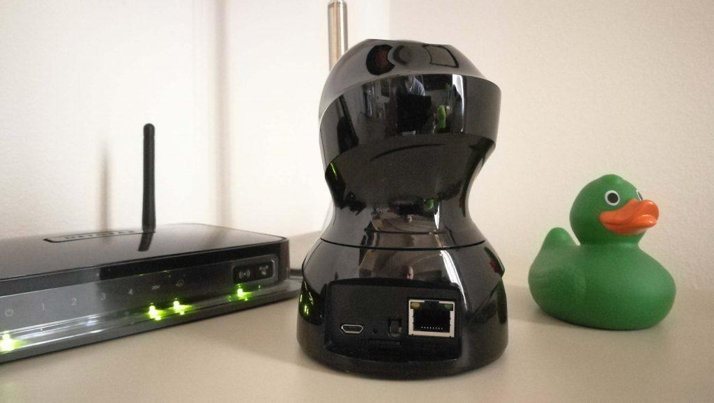AUKEY Videocamera di Sorveglianza a 360°