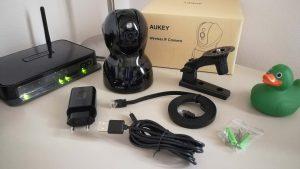AUKEY IP Camera di Sorveglianza a 360°