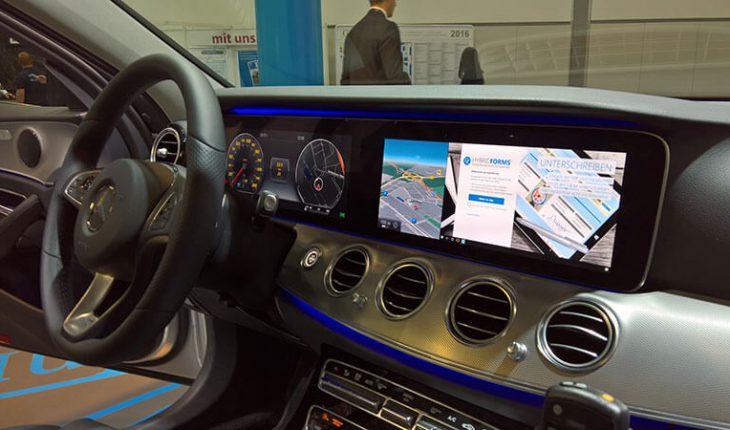 Continuum su Mercedes-Benz Classe E