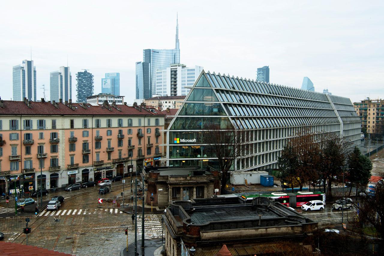 Microsoft: a Milano nuova sede per l'innovazione