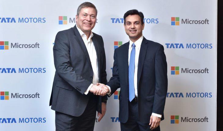 Tata Motors e Microsoft India