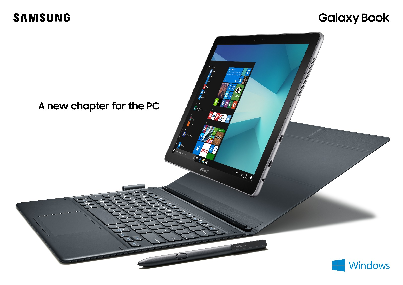 Samsung ufficializza Galaxy Book con Windows 10!