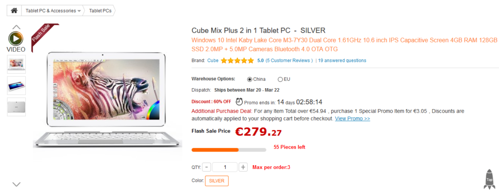 Offerta GearBest: Cube Mix Plus