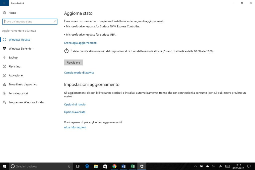 Update Surface Pro 4
