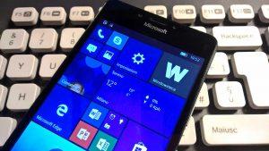 Build Preview 15043 di Windows 10 Mobile