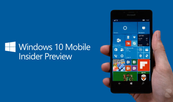 Windows 10 Mobile, nuova Insider Build Preview 15254 1 (feature 2