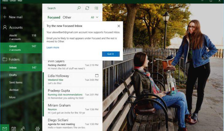 """Posta """"Evidenziata"""" anche per Gmail"""