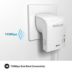 Repeater-Router Wireless Dual Band (AC750)