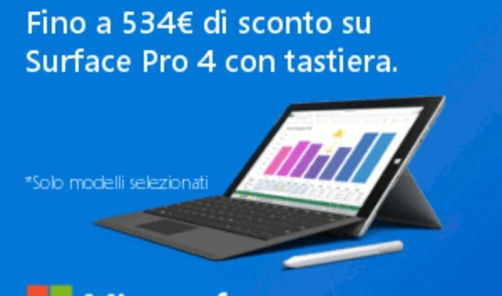 Promo Surface Pro 4