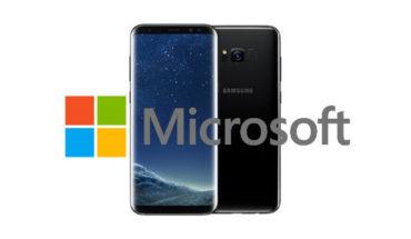 Samsung S8 Microsoft