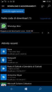Windows 10 Mobile Preview Store update