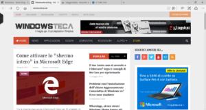 Windowsteca su Microsoft Edge