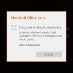 Office Lens W10 mobile