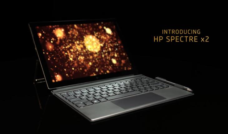HP Spectre X2 2017 una chiara sfida a Surface Pro