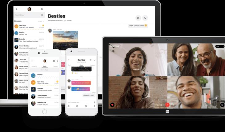 Skype copia Snapchat la nuova veste grafica