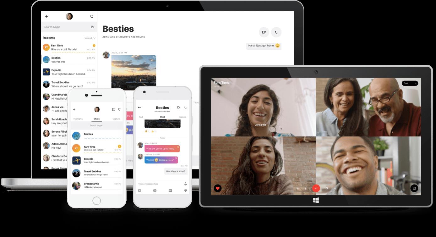 Microsoft presenta il nuovo Skype