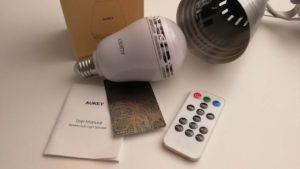 Lampadina-Altoparlante Bluetooth