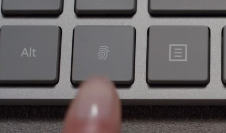 Modern Keyboard with Fingerprint ID