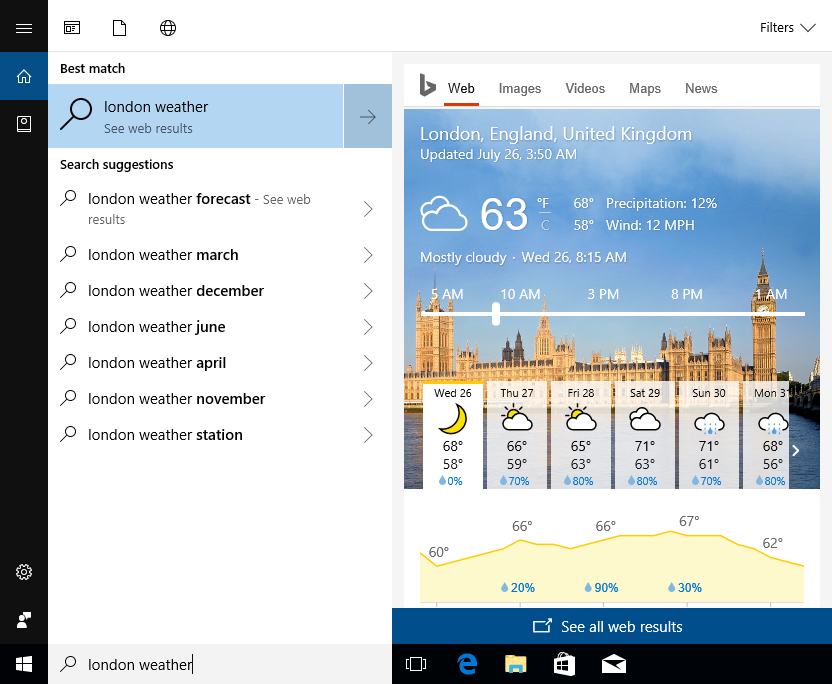 Windows 10 e tanto cloud — Microsoft
