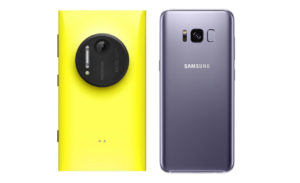 Nokia Lumia 1020 vs Samsung Galaxy S8
