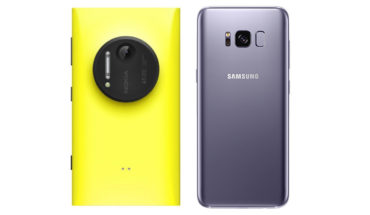 Nokia Lumia 1020 vs Samsung Galaxy S8