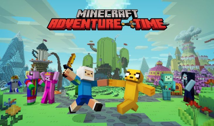 Minecraft Adventure Time Mash-Up