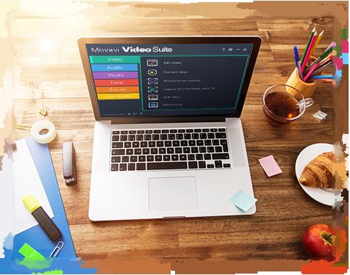 Movavi video suite il miglior software di editing video for Software per rendering
