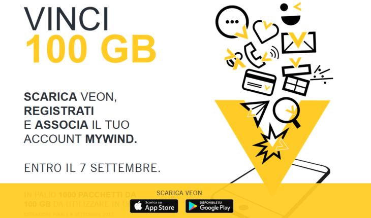 Concorso Veon 100 GB