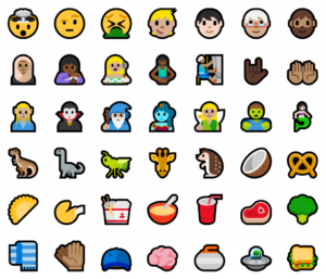 nuove emoticons