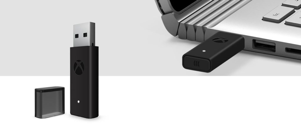 Adattatore wireless Xbox per Windows 10