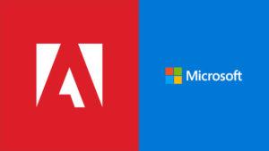 Microsoft e Adobe