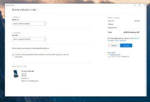 Nuovo Microsoft Store