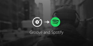 Groove Musica e Spotify