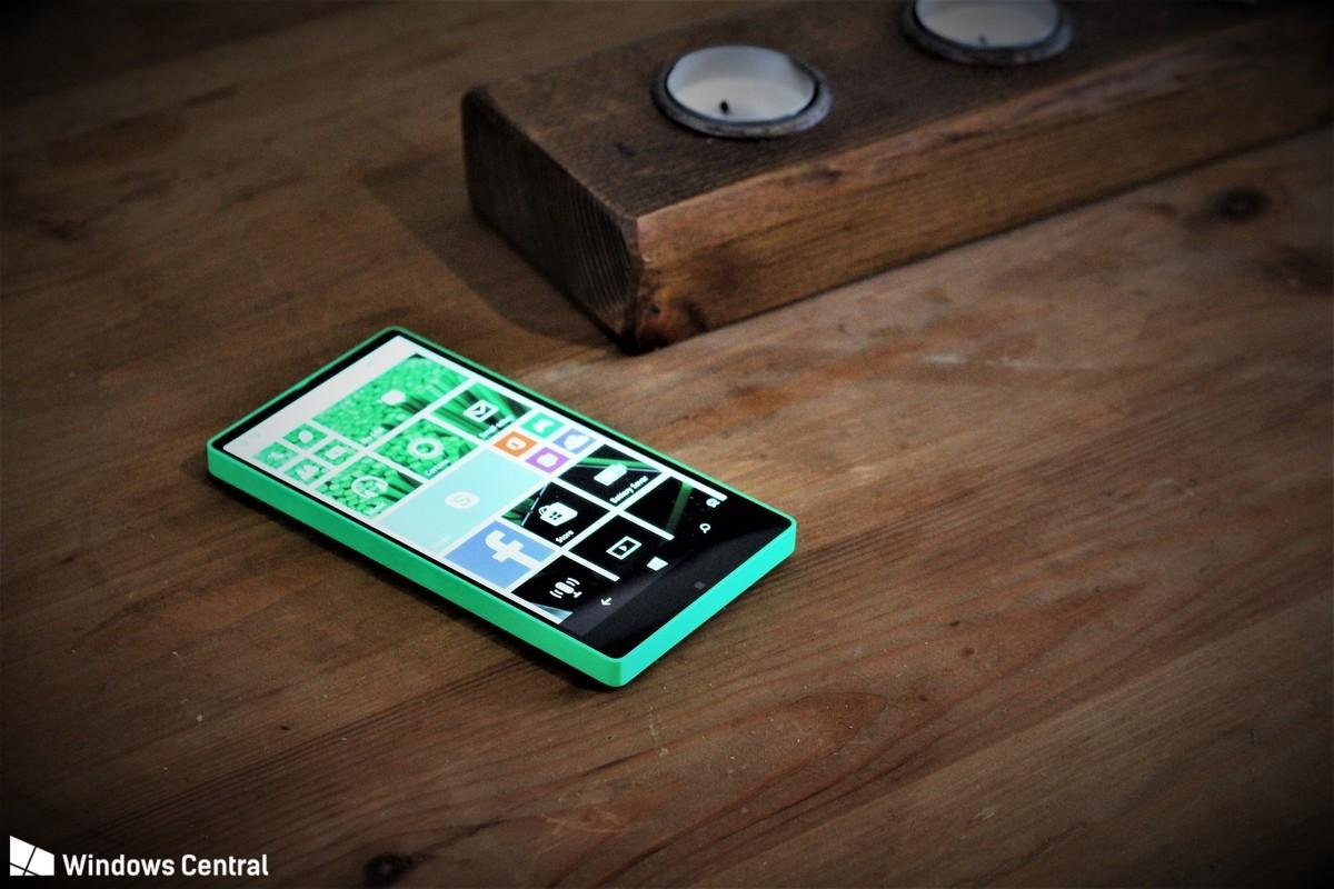 Microsoft aveva uno smartphone bezel-less